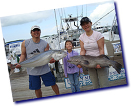 Amberjack and Grouper picture provided by Fishin' Mission Charters Islamorada