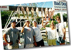 Fishing Photo - Bad Dog Party Boat