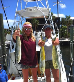 Mahi Fishing Picture Provided By Rodeo Charters of Key Largo