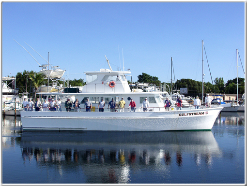 Captain Chan's Gulfstream Party Fishing Boat - Key Largo Florida