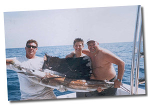 Sailfish Caught Aboard The Snow Leopard Sport Fisherman